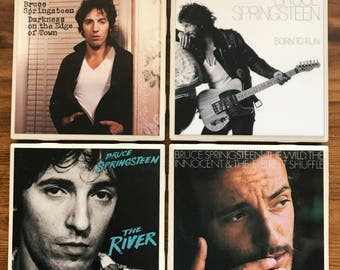 Bruce Springsteen Album Coasters