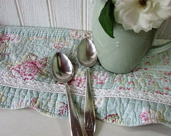 Art Deco Serving Spoons