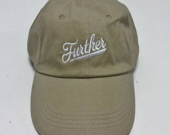 Further dad hat,Cap embroidery, Dad cap,embroidery,machine embroidered