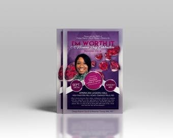 Church Conference Flyer, Women's Conference Flyer, Church Event Flyer, Women's Conference Promotion, 1-Sided Flyer