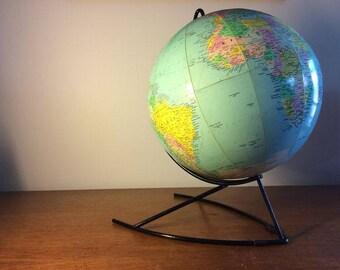 globe terrestre vintage etsy. Black Bedroom Furniture Sets. Home Design Ideas