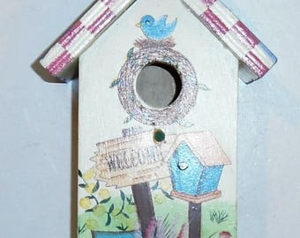 Solid Wood Birdhouse * Refurbished