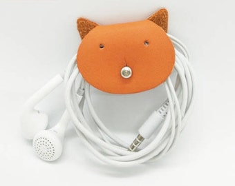 Cute Cat Cord Holder for USB wires!