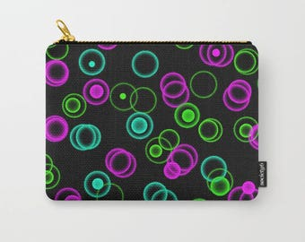 Carry All Pouches Dark Bubble