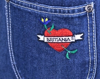 Brittania High Waisted Jeans 1980's