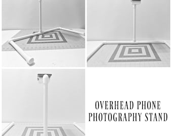 Overhead Phone Photography Stand