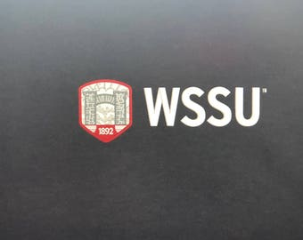 Embroidered Bandanna Winston-Salem State University (WSSU) 21x21 (Your Choice of color and Design)