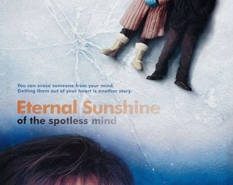 Back to School Sale: Eternal Sunshine Of The Spotless Mind Movie Poster Jim Carrey