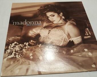 33 LP Album Madonna Like a Virgin USED Nice condition
