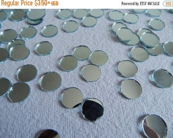 10% OFF Craft Mirrors, 12mm Mirrors, Mirror Embellishments, Glass Mirrors, Round Mirrors