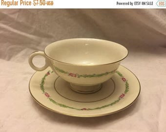 Theodore Haviland Garden flowers Cup and saucer
