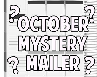 SALE October Mystery Mailer