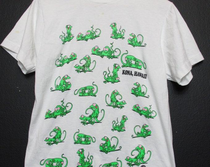 Kona Hawaii Gecko Vintage Tshirt