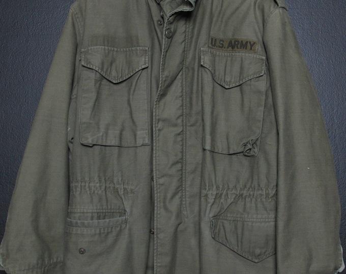 Vintage Army Jacket Parka