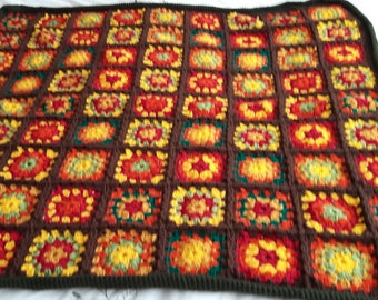 Autumn knee blanket/throw