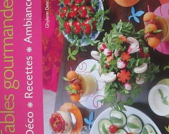 book cover of 61 table deco, delicious recipes