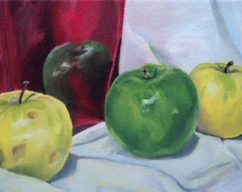 Green Apple, Red Vase, and Co.