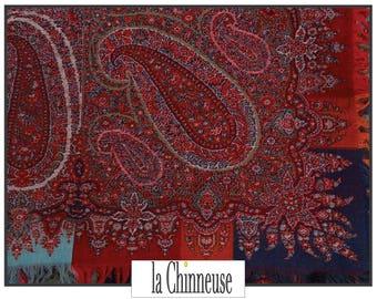 ANTIQUE Kashmir Shawl 19th Century 19th century Cashmere shawl.