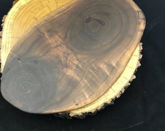 Michigan Black Walnut Charcuterie & Cheese Board slab/Cutting board