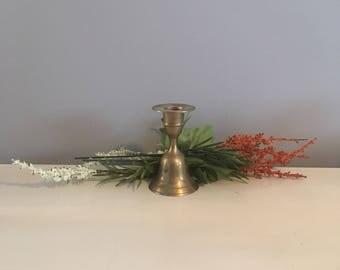 Brass Candlestick Holder/Bell