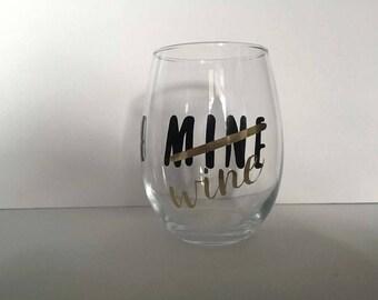 Be Wine Wine Glass