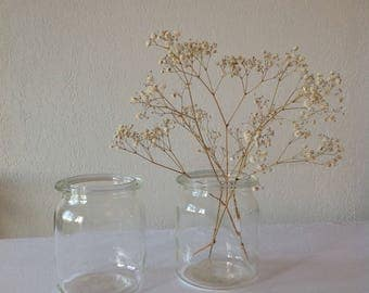 Jar in glass jars, glass, glass jar, glass jar vase