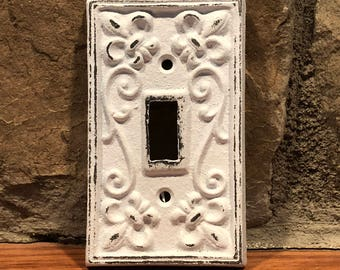 Light Switch Cover/Nursery Wall Decor/ Light Switch Plate/Country Chic/You PICK COLOR/Outlet Cover/Shabby Chic/French Country