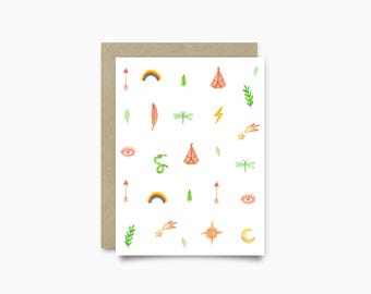 Greeting card - Indian Summer