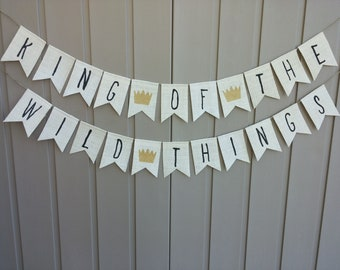 Where The Wild Things Are Cake Bunting Wild One Cake Bunting