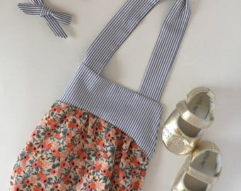 baby girl romper, romper, floral baby romper, baby girl clothes, baby girl outfits, summer romper, boho romper stripes newborn photos outfit