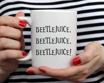 Beetlejuice   Fall Mug   Halloween Mug   Cute Fall Mug   11 oz or 15oz Mugs   Fall Coffee Mug