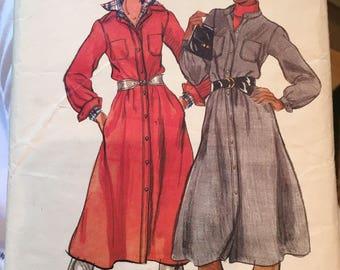 Vintage 70's pattern short drrsd BUTTERICK 5029 - size 18
