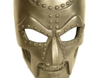 Dr Doom Mask Coldcast Aluminum Comic Book reproduction