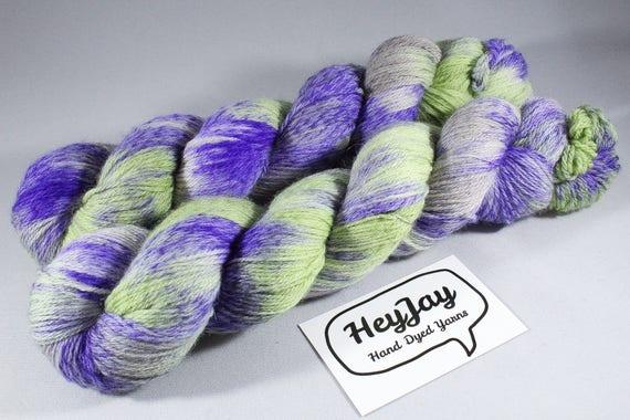 Hand Dyed Tweed 4ply Yarn Merino - Neopet