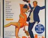 Barefoot In The Park - 1967 -  Original Australian daybill movie poster