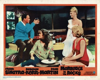 Marriage On The Rocks  - 1965 - Original US lobby card  #  5