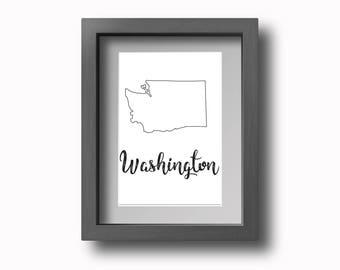 PRINTABLE Washington Wall Art!