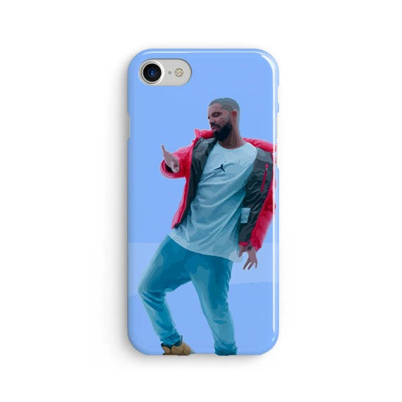 Drake hotline bling illustration  iPhone X case - iPhone 8 case - Samsung Galaxy S8 case - iPhone 7 case - Tough case 1P041