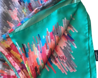 Chanel cc logo shawl scarf X-LARGE