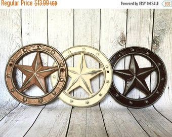 ON SALE Rustic Star Decor - Gallery Wall Decor - Western Star - Rustic Home Decor - Texas Star Wall Hanging - Cast Iron Star - Cowboy Nurser