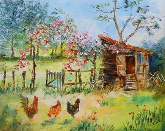 Painting Henhouse