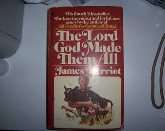 The Lord God Made Them All novel paperback vintage true story