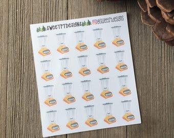 Functional Blender Planner Stickers