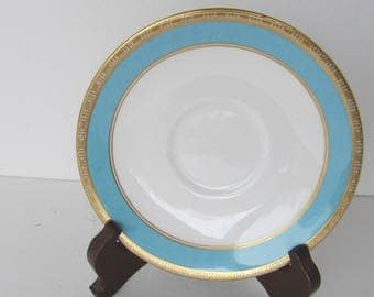 Royal Crown Derby Saucer - Fifth Avenue - Made in England