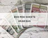 BOX MINI SHEET Grab Bag