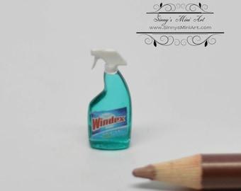1:12 Dollhouse Miniature Windex Glass Cleanser HRM 57179