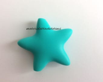 Star Silicone bead