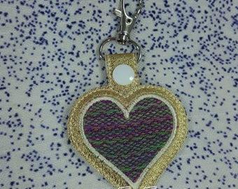 Keychain - Farideh Wrap Scrap - Wings of Love