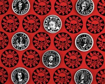 HORROR badge set