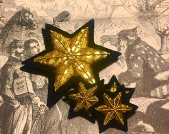 Embroidered Florida Stars